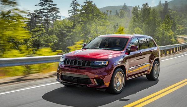 2021 Jeep Grand Cherokee Trackhawk Price, Interiors and Redesign