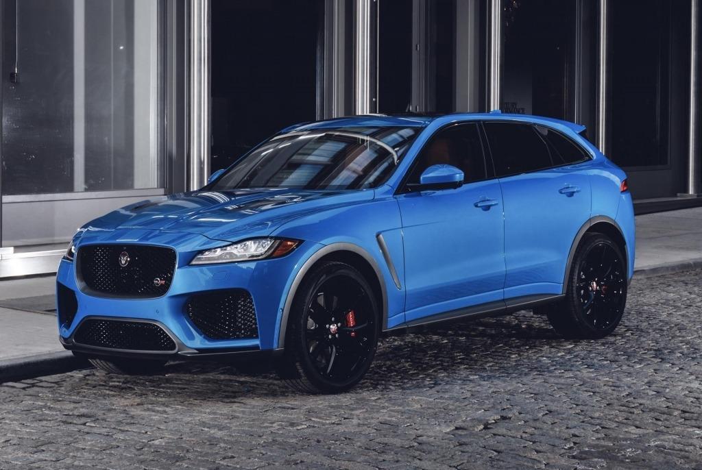 2021 jaguar fpace spy shots | top suvs redesign