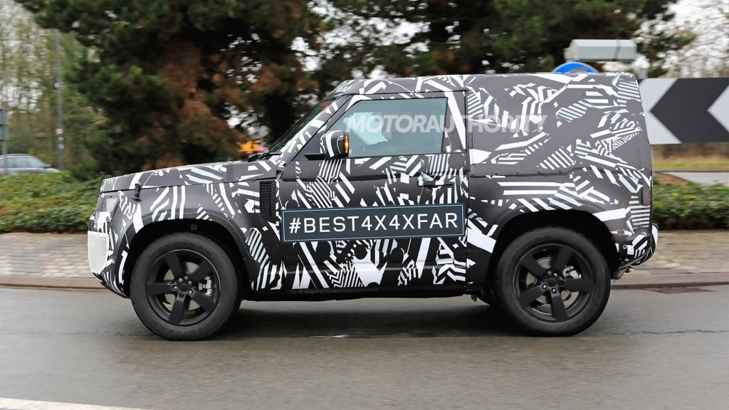 2021 Land Rover Defender Spy Photos   Top SUVs Redesign