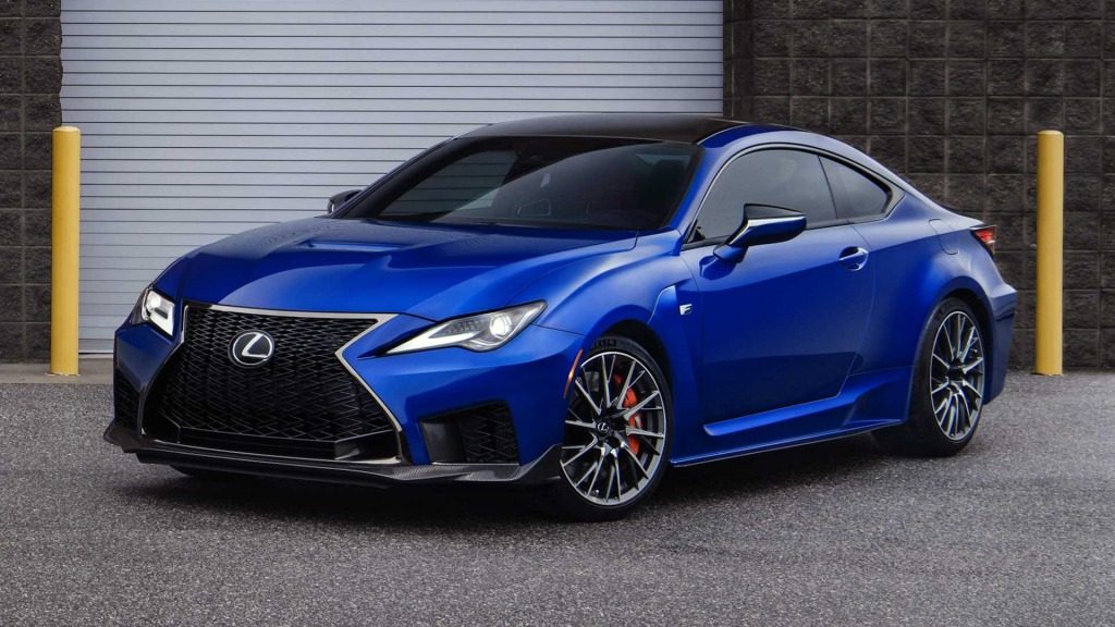 2021 Lexus RC F Wallpaper